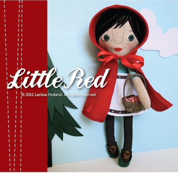 Little Red PDF Pattern