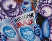 Girls Gone Mad 11 x 14 Fine Art Print