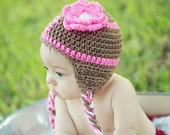 Baby Football Hat Size Newborn 0 3m 6m Crochet Braids Earflaps Sports Photo Prop boy girl Team Colors Gender Neutral Hospital Gift Cute