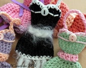 The Baby Doll Sachet ( Crochet Pattern PDF) Fill with lavender, rose, or favorite herb scent.
