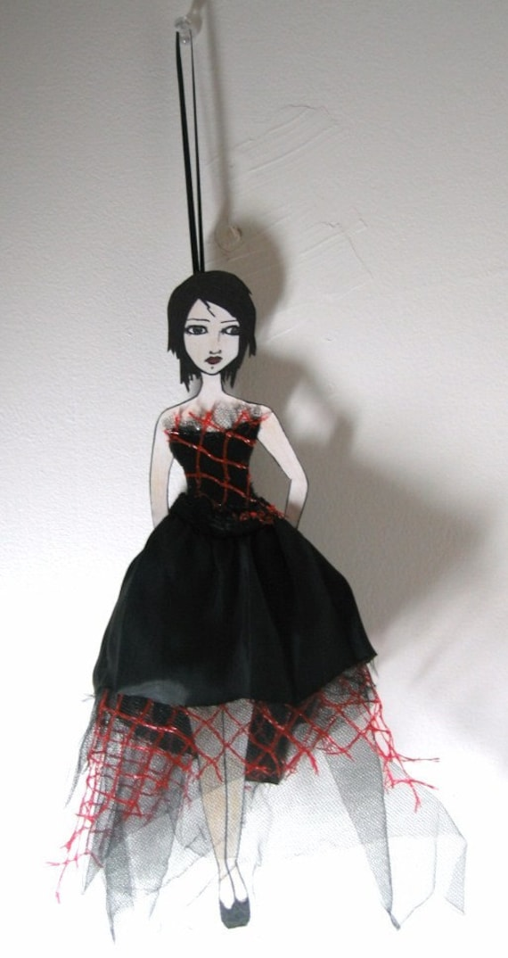 SALE - Tattered Ballerina Art Doll 1