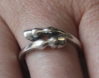 Large Horse Hoof Ring in Sterling Silver 237