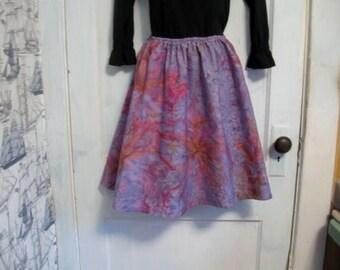 Full Tie Dyed Skirt, Ladies Skirt, Tie Dye Skirt, Fun Skirt free size