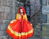 Custom Recycled Sweater Coat with a Medieval Liripipe Hood by SnugglePants- Unto Ashes