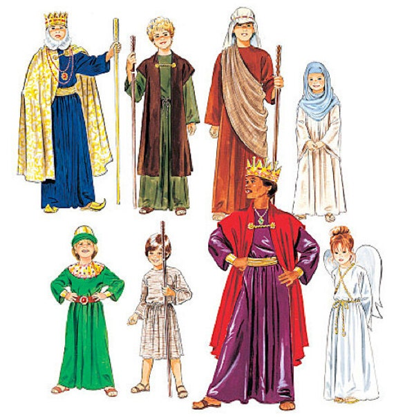 Nativity costume sewing pattern easy christmas by patterns4you