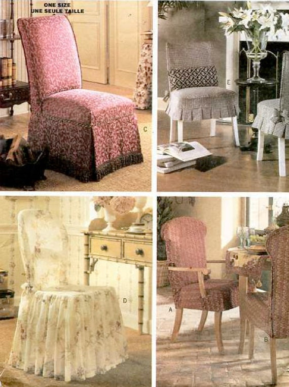 Vintage French Country Waverly Norfolk Rose Chair Slipcovers Sure ...