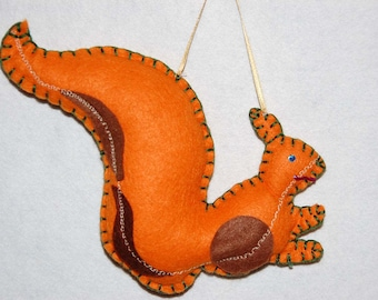 Felted squirell