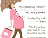 Baby Shower Invitation -- Expecting Showers