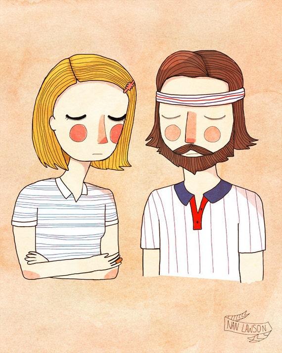 Secretly In Love - Illustration Print
