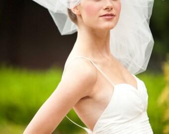 Classy Wedding Veil -- Classy Bubble Veil