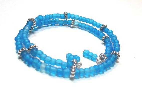 Bracelet Turquoise Wrap Beads Jewelry