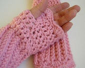 Perfectly Pink Fingerless Gloves