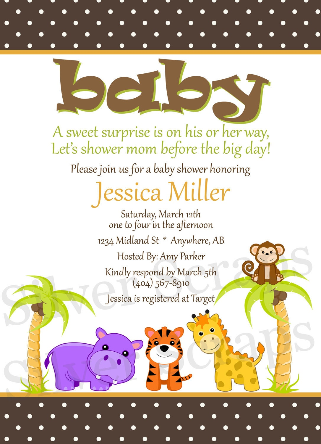 King Of The Jungle Baby Shower Invitations for luxury invitation ideas