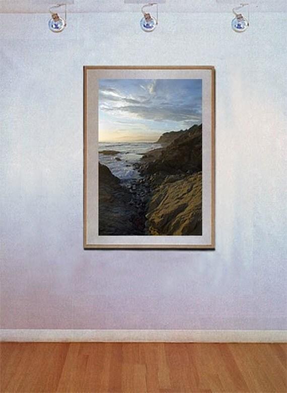 Cambria Sunset Fine Art Photo by Michael Verlangieri