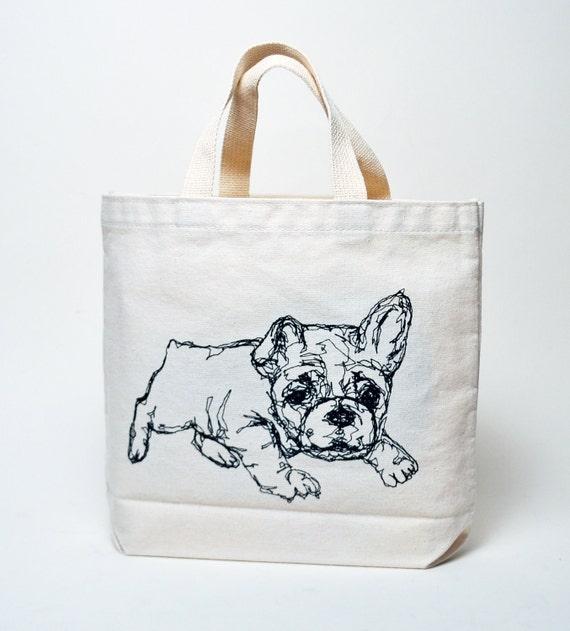 Recycled Cotton Bulldog Bag