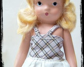 Vintage Toy , Doll Nancy Ann Story Book Doll , Blonde Story Book Doll