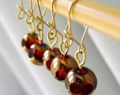 Ruby of The Heart - Twitches For Your Stitches - Five Removable Stitch Markers - 6.0 mm (J) (US 10)  - Open Edition