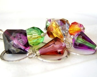 Gems of Heaven - Seven Handmade Stitch Markers -  Fits 12.0 mm (17 US) - Open Edition