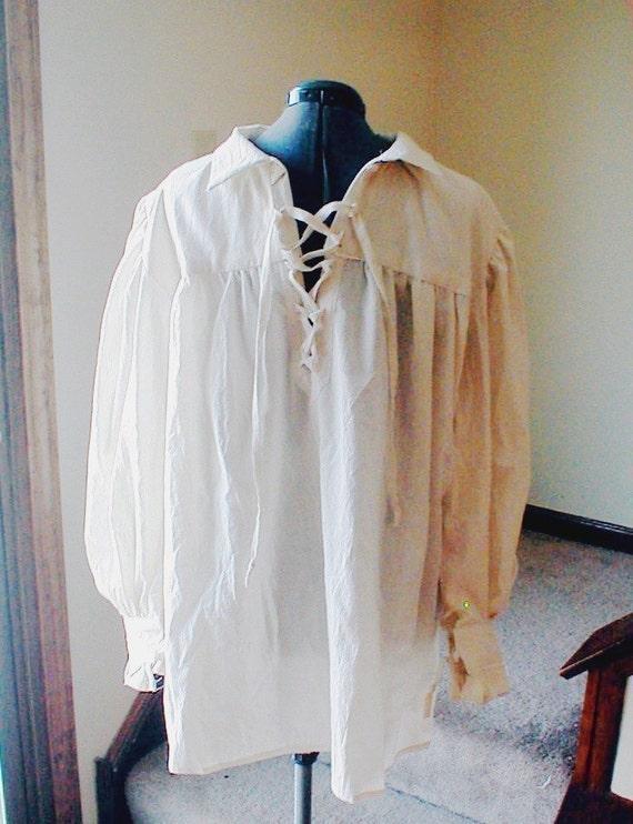Poet, Pirate, Renaissance Shirt