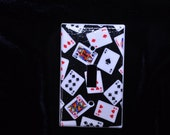 Playing Cards Light Switch Plate Cover Single toggle (STANDARD SIZE)