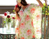Floral Dress in Roses and Cream Mini