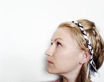 The Braided Headband, Hippie Headband, Coachella, Festival Style