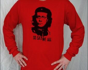 CLEARANCE SALE - Adama So Say We All Mens Longsleeve tshirt
