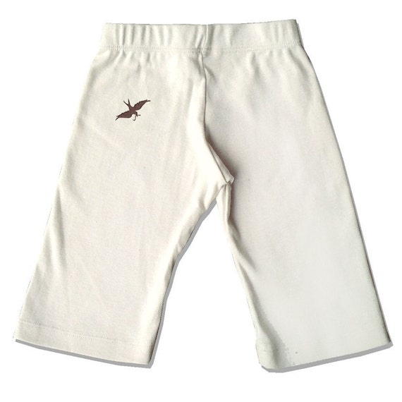 Organic Cream Cotton Pants, Infant / baby sizes, natural cream, black, or brown to choose from. All infant sizes