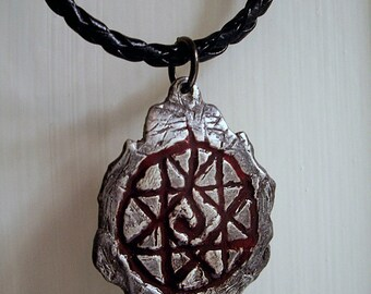 Blood Seal Pendant - Anime Jewelry  (Sterling Silver)