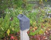 infinity crochet cowl scarf wrap digital download easy beginner simple gift pdf - So Easy It's Sinful Cowl crochet pdf pattern