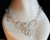 Eosheal Ornate Wire Necklace