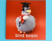 "Mr. Pigeon ""Bird Brain"" Card"
