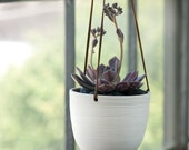 Scribble Hanging Planter - PigeonToeCeramics