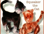 Digital Sewing Pattern Squeaker the Cat