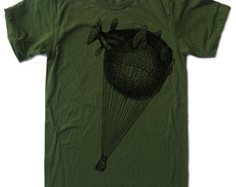 Men's BALLOON FISH t shirt s m l xl xxl (+ Color Options)