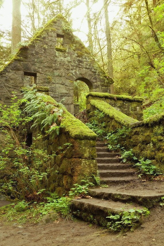 Items Similar To The Stone House Forest Park Portland