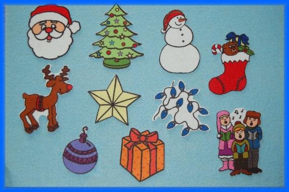 Santa , Santa, - What do you see-  Felt Flannel Board Set