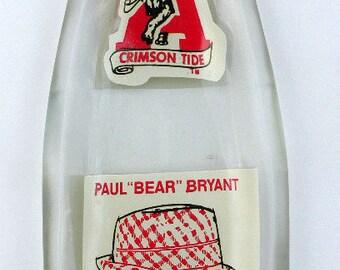 ALABAMA Bear Bryant 1981 Coke Bottle Slumped Spoon Rest
