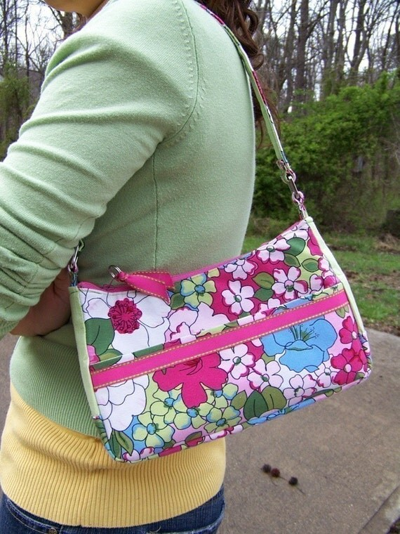 Small Handbag Pdf Pattern with Zipper Tutorial 3 in 1
