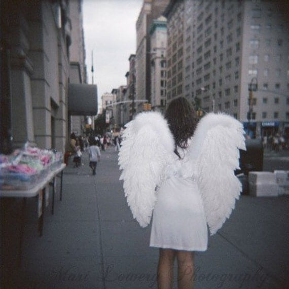 items similar to new your city angel photography print