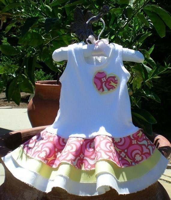 T shirt dress pattern tutorial multi tiered by for Easy to make t shirt dress