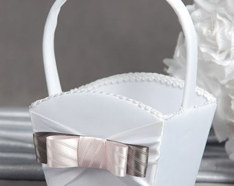 Tie(ing) the Knot Flower Girl Basket - 800310