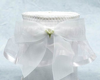 Calla Lily Bouquet Wedding Garter - 50725C