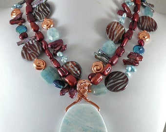 Blue Hawaii Necklace