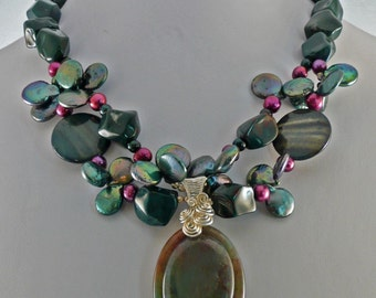 Teal Delight Necklace