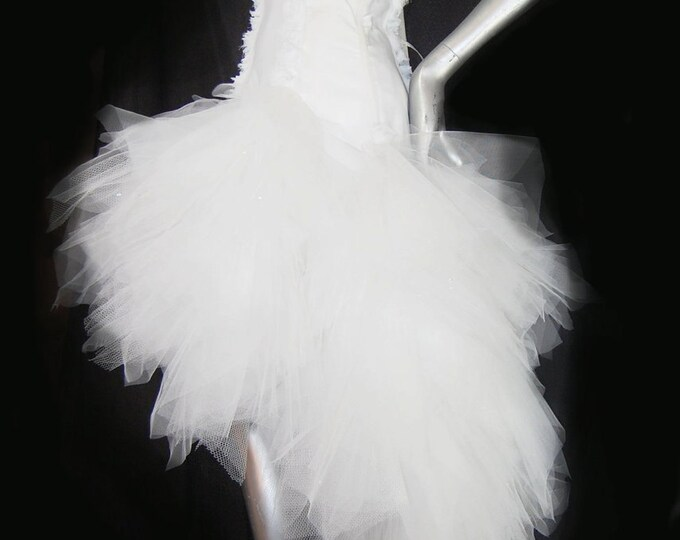 Tutu Wedding Gown Short In Front PLUS SIZE Too Gypsy Steam
