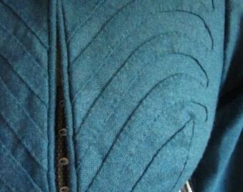 Regency Spencer Made to Order womens Jane Austen era Historical Costume for Empire, Napoleonic, 1800's, 1810's, 1820's Reenactment Clothing