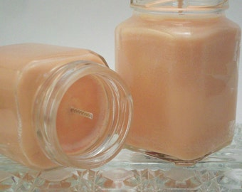 Confidence Aromatherapy Candle - Orange Grapefruit Bergamot Essential Oils - Soy Wax Home Fragrance