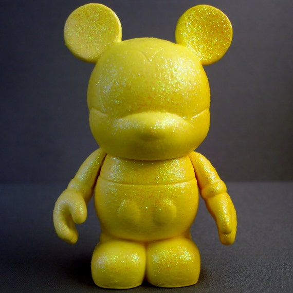 Ombre Yellow Mouse Custom Vinylmation