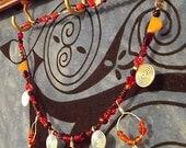 Born of Fire - Norse-Inspired Treasure Necklace